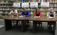 Spring athletes final signing