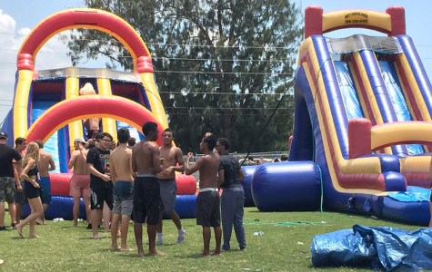 Senior Barbecue heats up finals week