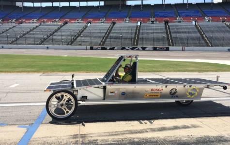 SolarCats burn bright at Texas Motor Speedway