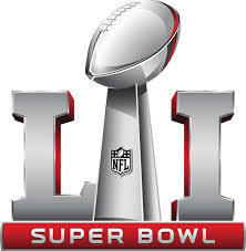 Super Bowl LI logo - photo courtesy of Wikimedia Commons and used under fair use.