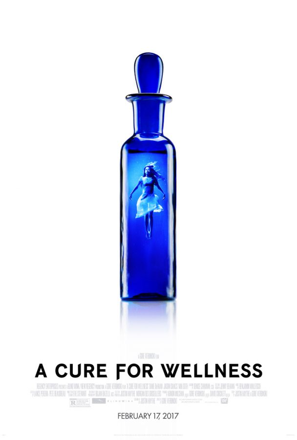 A Cure for Wellness movie poster courtesy of comingsoon.net and used under Fair Use.