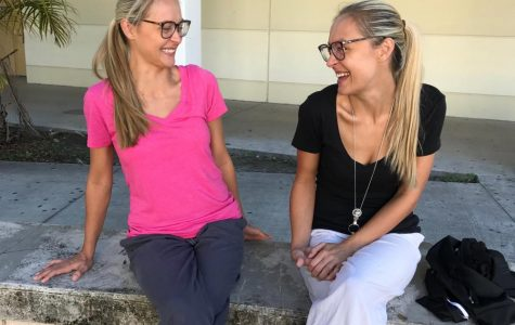 Brown twins have students seeing double