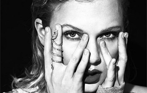 Taylor Swift poses for her new album set to hit stores on Nov. 10