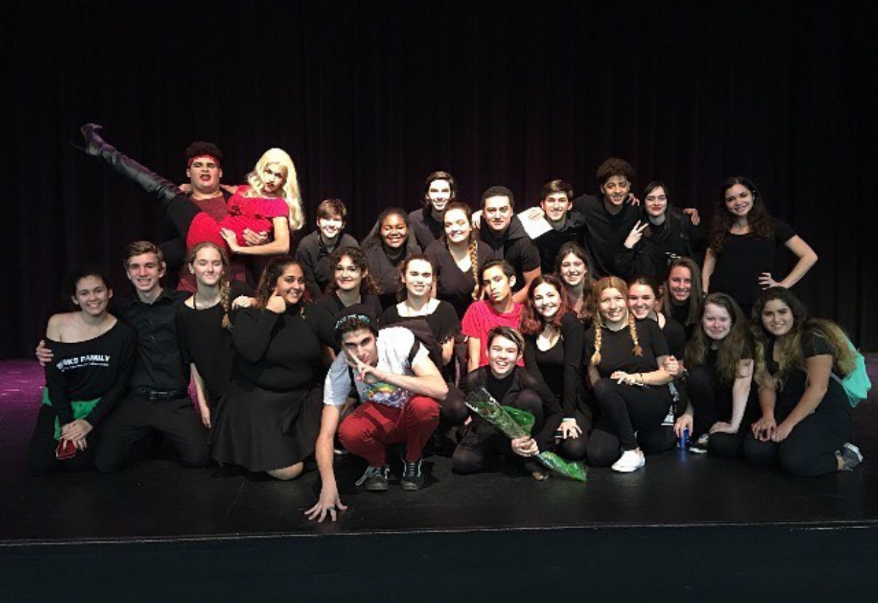 Troupe 4259 showcases their act for parents on Oct. 25.