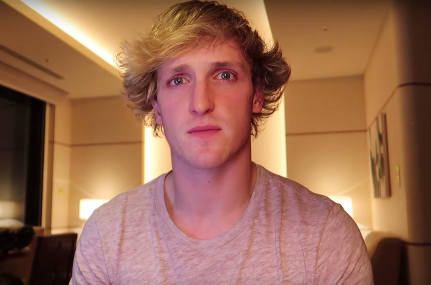 YouTuber Logan Paul films his first apology video for filming a dead body in the