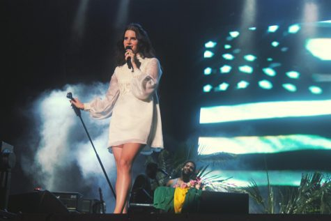 Lana Del Ray delights fans in Sunrise