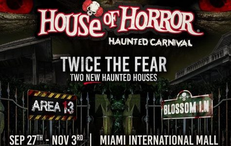 """House of Horror"" located in Doral, Florida."