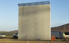 Border wall divides Americans