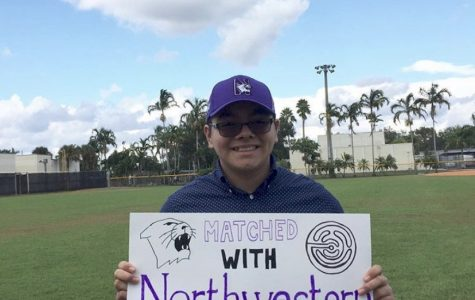 Senior Gerardo Rodriguez was chosen by scholarship program QuestBridge to attend Northwestern University in the fall.