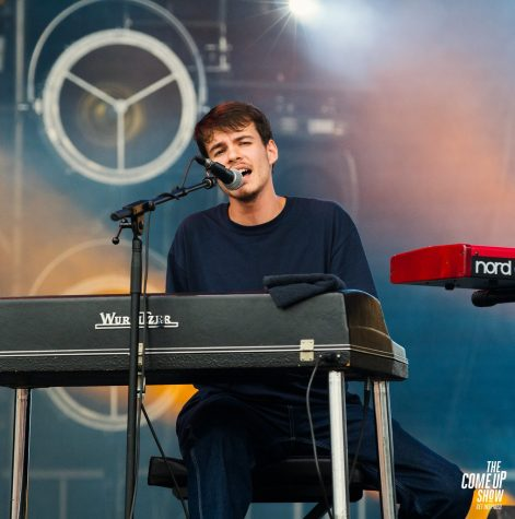 Rex Orange County plays a set in 2018 at the Osheaga Festival in Canada.