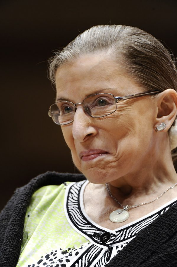 Supreme+Court+Justice+Ruth+Bader+Ginsburg+was+an+icon+on+gender+equality+issues.+