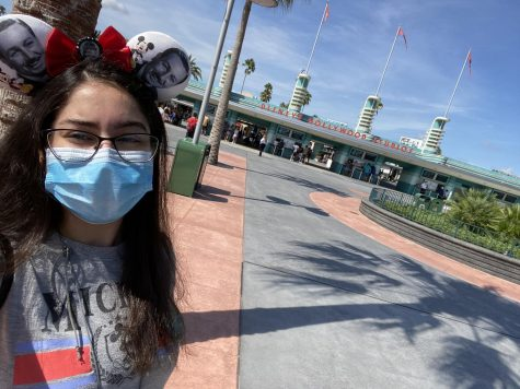 Sophomore Donia Bahlawan visited Disney