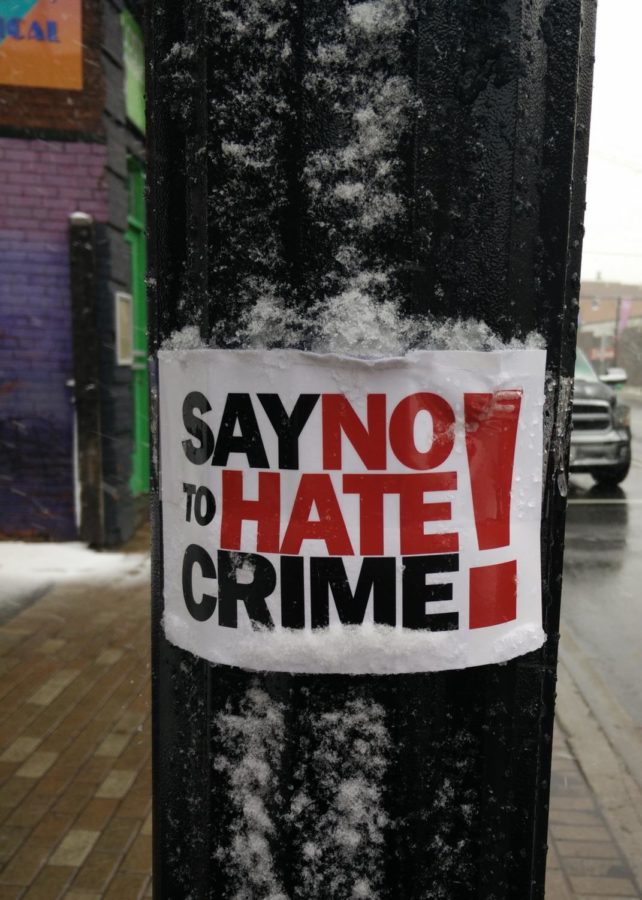 Hate Crimes against Asian Americans are up by 164 percent in 16 major U.S. cities, according to the Center for the Study of Hate and Extremism at Cal State University San Bernardino.
